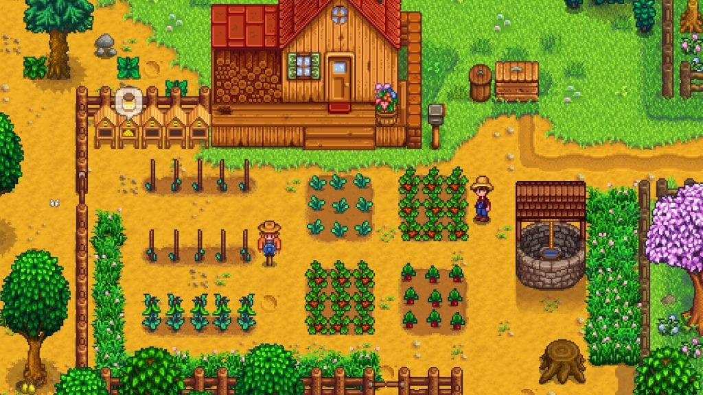 Stardew Valley low-spec spil