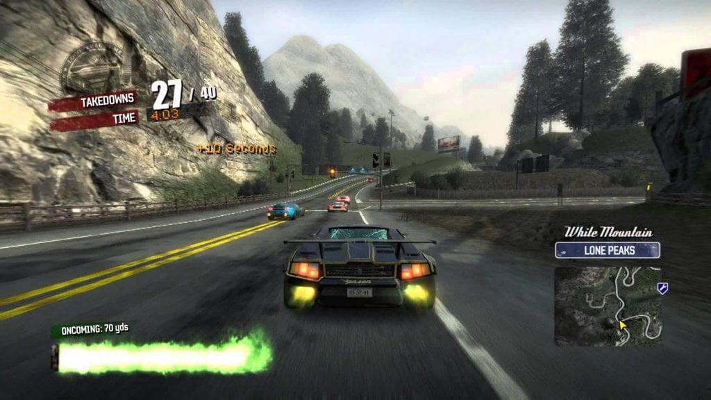 Burnout Paradise low-spec spil