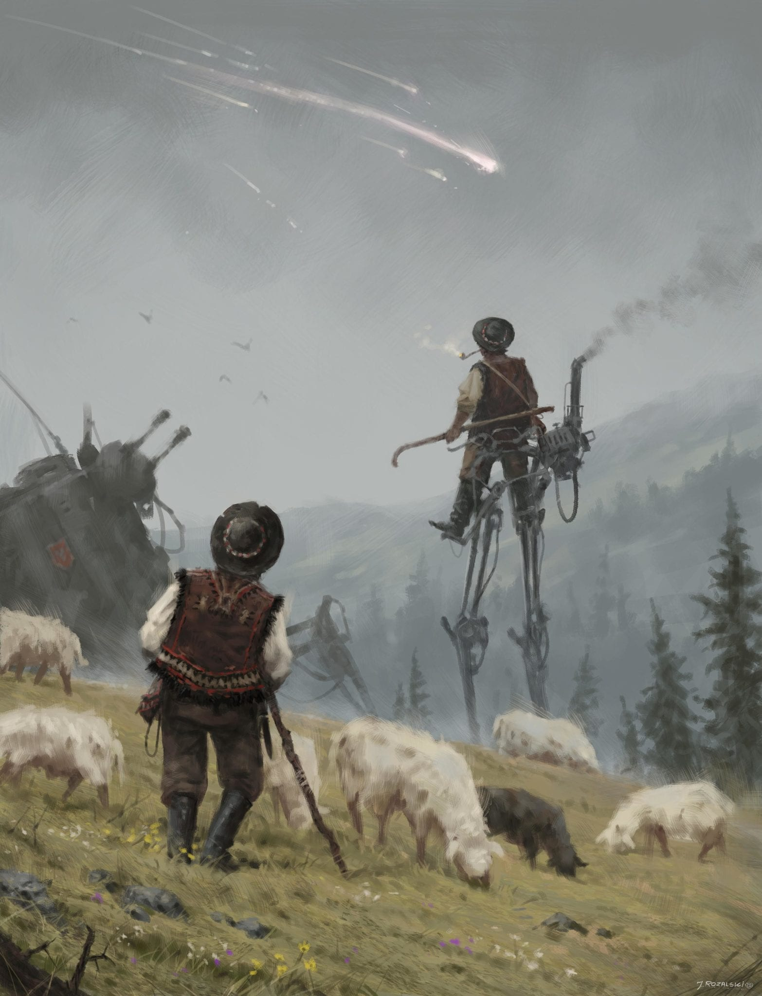 1920 - the end of the known world, Jakub Rozalski